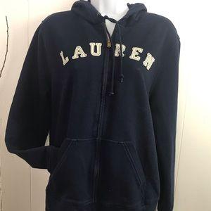 Ralph Lauren Size Large 100% Cotton Hoodie